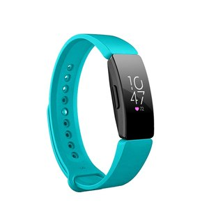 Fitbit Inspire HR siliconen bandje (Large) - Turquoise