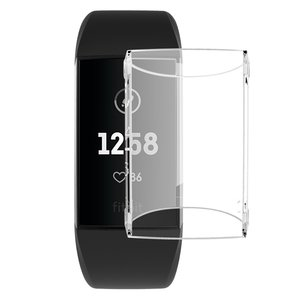 Fitbit Charge 3 Case (volledig beschermd) - Transparant