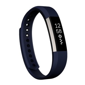 Fitbit Alta siliconen bandje, Small, Lengte: 18.5CM - Donker blauw