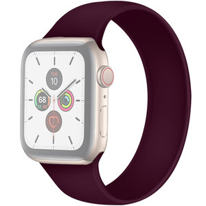 Apple Watch 42/44mm - Maat: M - Solo Loop link series - paars