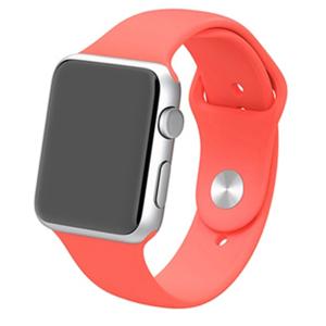Apple watch 38mm / 40mm rubberen sport bandje - Magenta