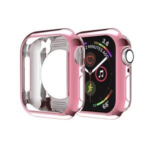 Siliconen case 40mm - Roze - Geschikt voor Apple Watch 40mm