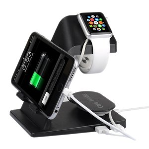 Itan A16 Apple watch, iPhone en iPad houder- Zwart