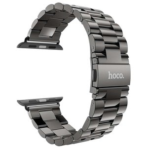 HOCO Apple watch bandje 42mm staal - Grijs