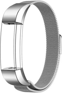 FitBit Alta HR Milanese bandje (Small) - Zilver