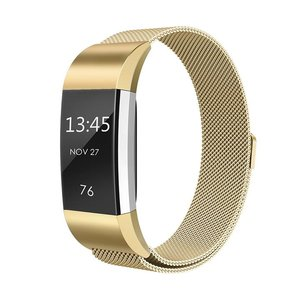 Fitbit Charge 2 milanese bandje (Small) - Goud