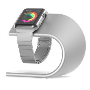 Apple watch stand aluminum - zilver